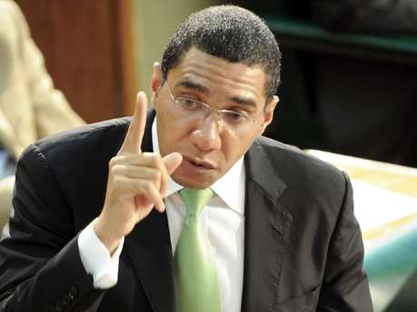Andrew Holness Speaking