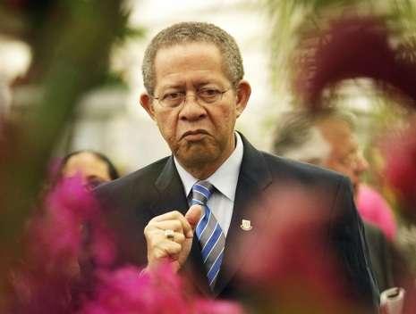 Jamaican Prime Minister Bruce Golding vi