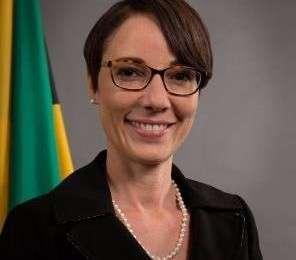 Kamina Johnson Smith Minister