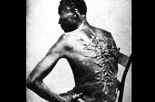 Beaten-slave