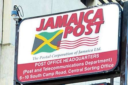 Jamaica Post Sign