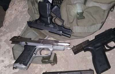 GOODWILL GUNS RECOVERED
