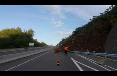 landslide highway