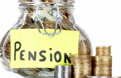 Pension Cookie Jar