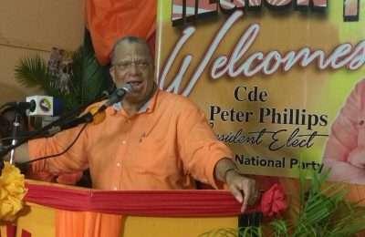Peter Phillips PNP Meeting
