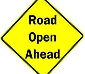 Road-Open-Ahead