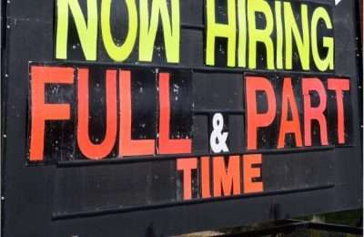 Employment Numbers up