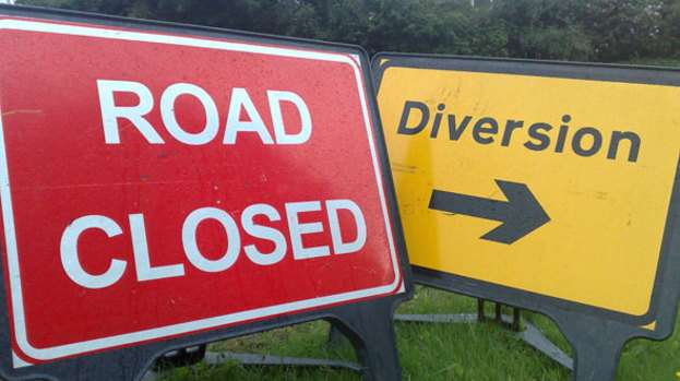 Sections of South Camp Road Closed Until Tomorrow