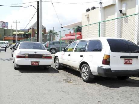 Commuters Affected as Taxi Operators in St. Catherine Continue to Protest