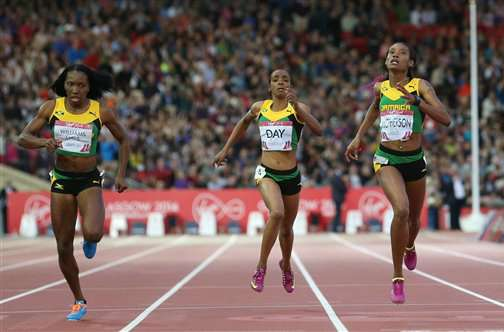 Glorious Day for Jamaica at Glasgow: Jamaican Trio Finish 1-2-3