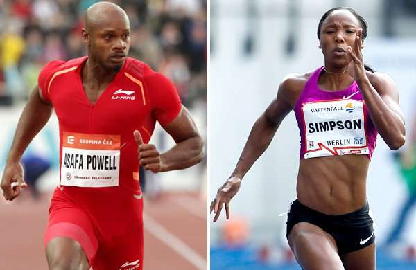 Court of Arbitration for Sports clears Powell, Simpson to compete