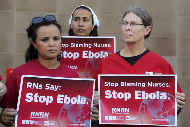 US Nurses on Ebola