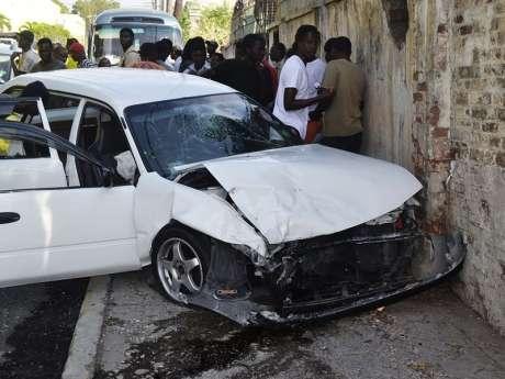 Police on Crashes