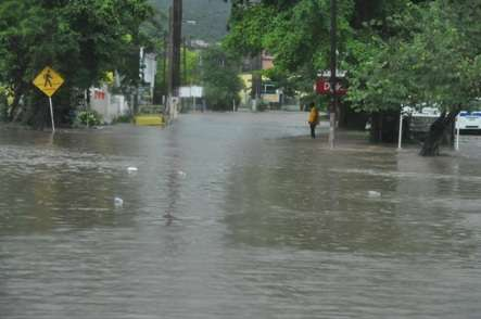 Rains Lash East