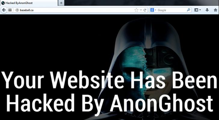 Ghost Hacktivism