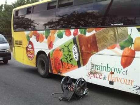 JUTC Bus Crush Man to Death