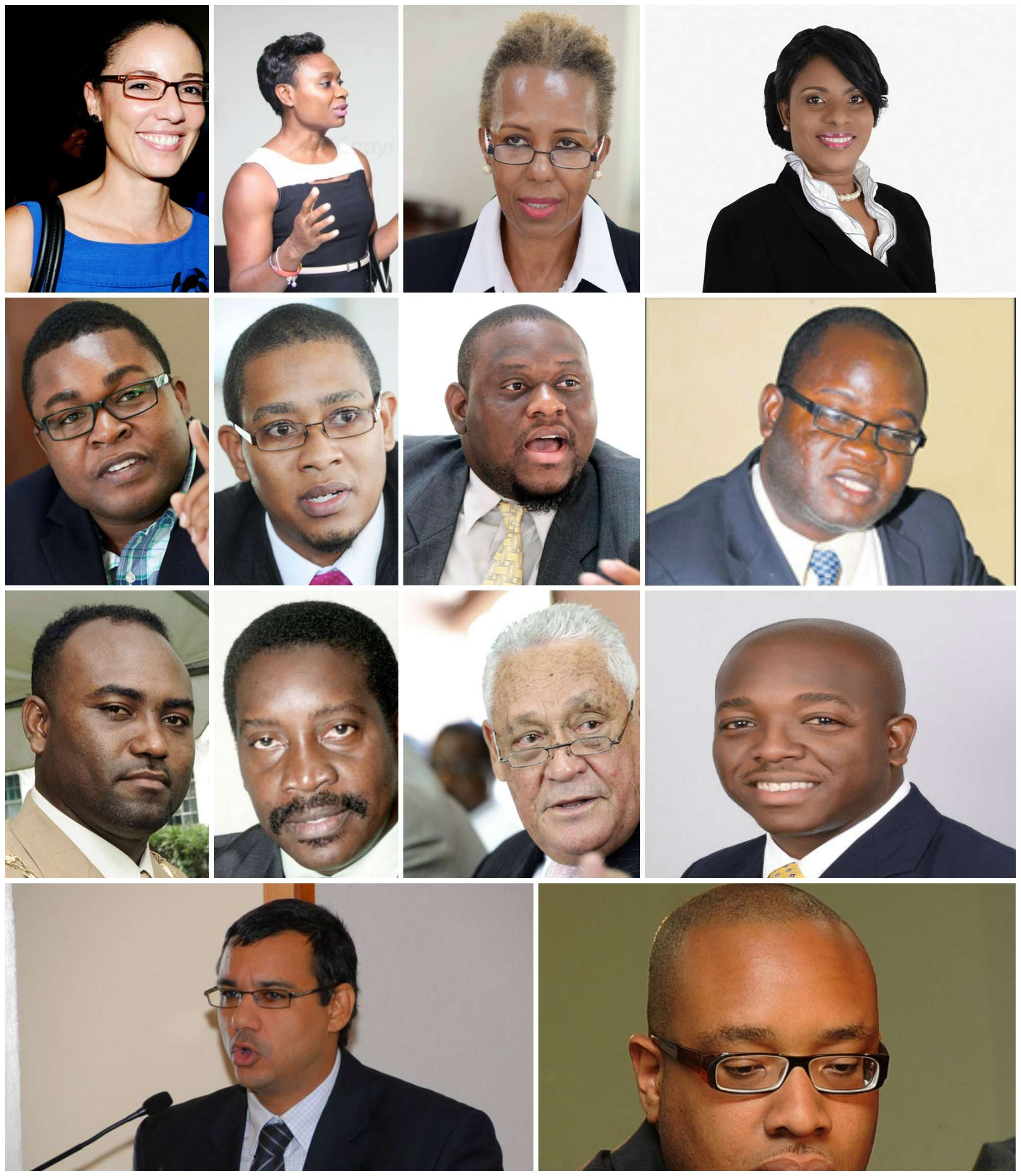 The Faces of Holness' Shadow Cabinet