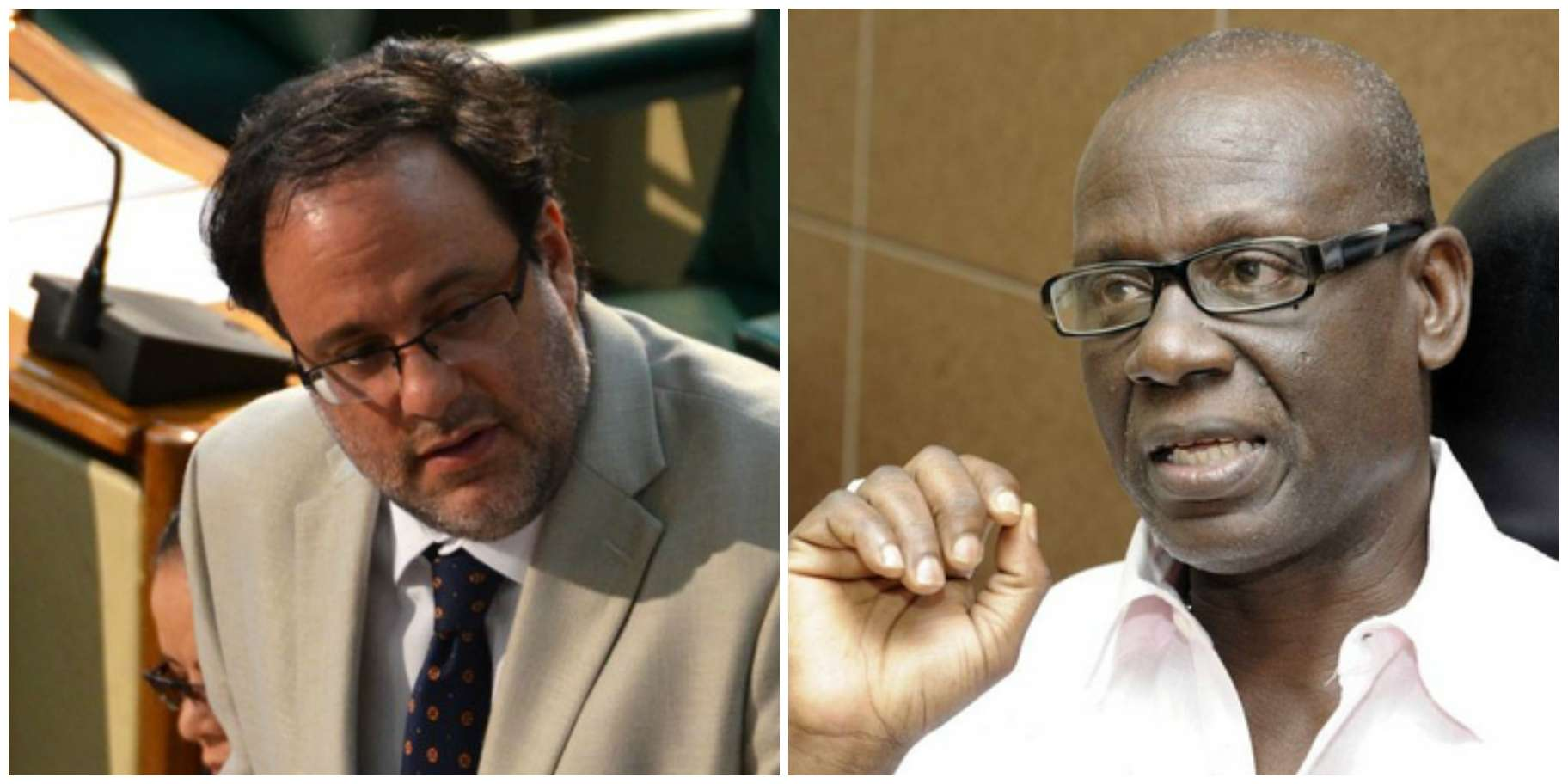 Golding, McKenzie Clash Over Compensation for Tivoli Residents
