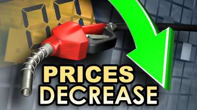 Petrol Prices Down Today