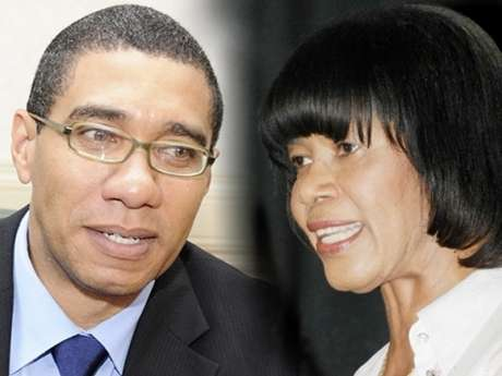 Simpson-Miller, Holness Clash Over Gov't Priorities