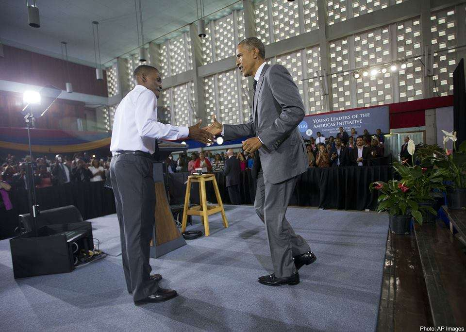 Obama Launches $8b Youth Initiative on Concluding Trip to Jamaica