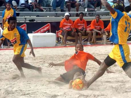 Huge Potential for Beach Fotball to Grow Locally  – Pryce