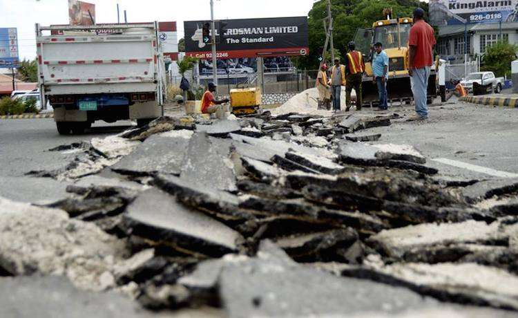 Obama Road Repairs Total 56% of Projected Spending for All Roads in Kingston & St. Andrew Roads