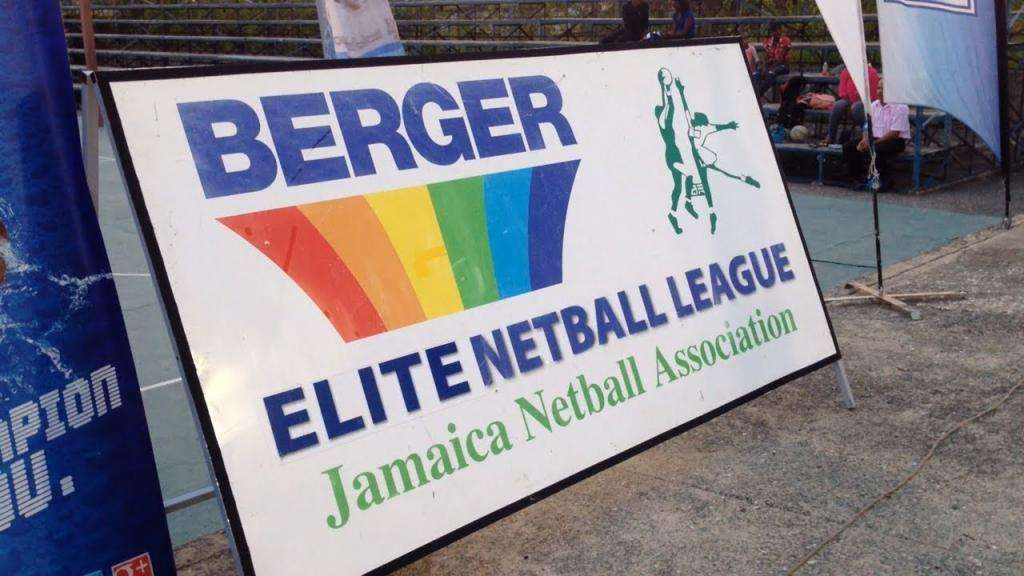 St. James Sharps Lead Berger Elite Netball