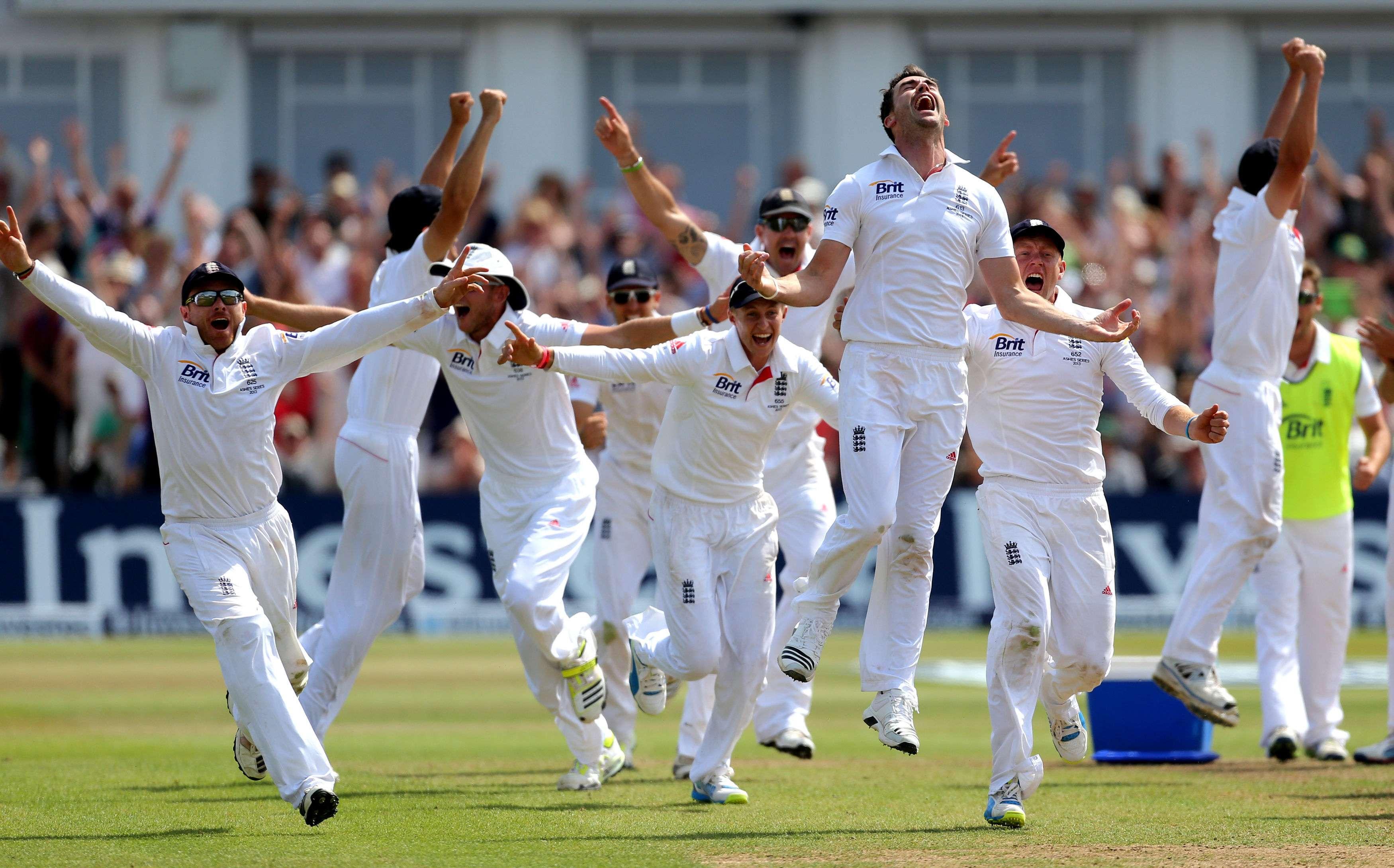 England Beats St. Kitts' '11'