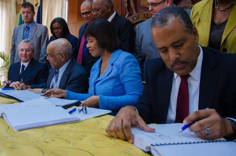 Gov't Inked $US510-million deal to Privitize Kingston Container Terminal