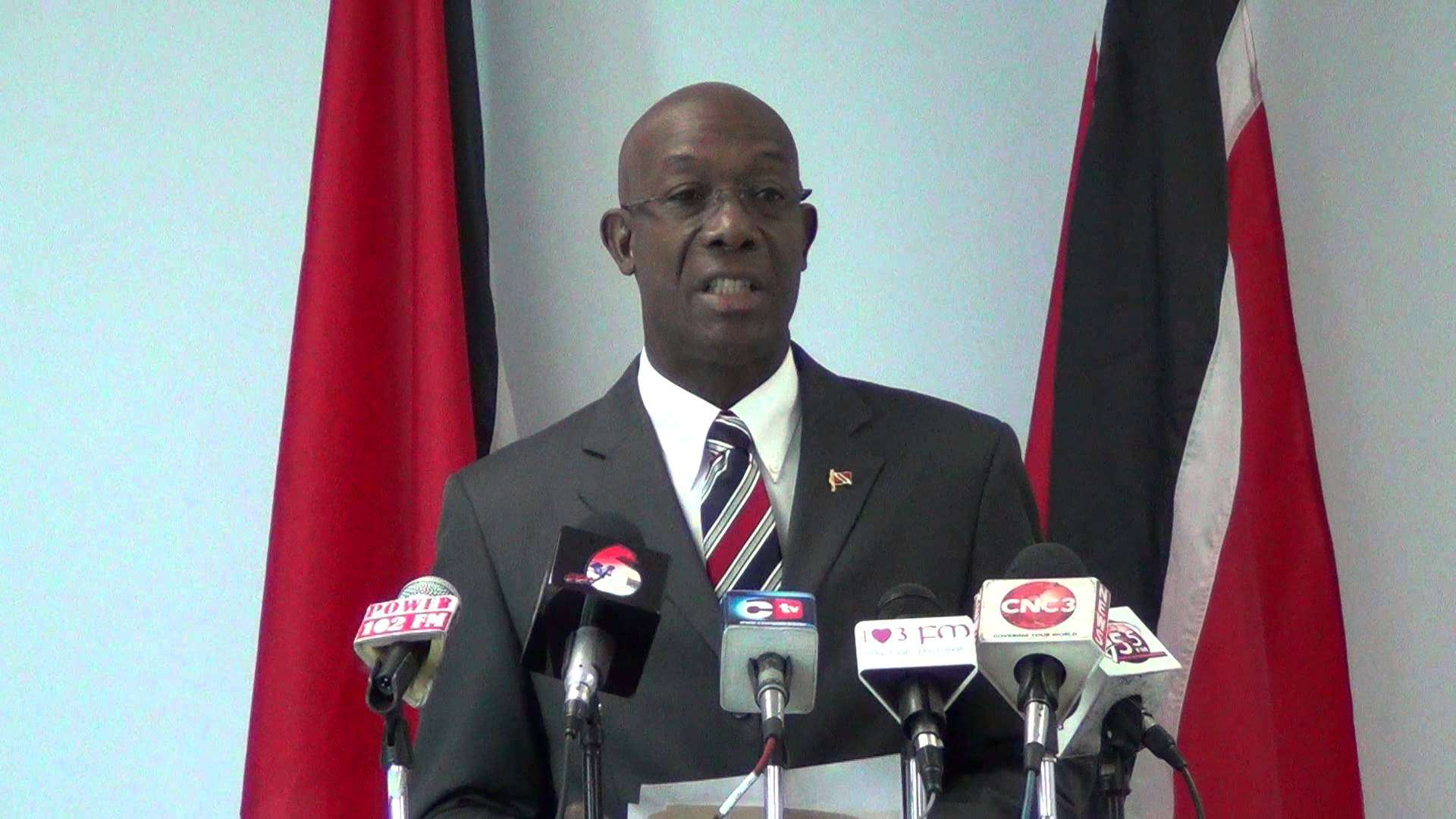T&T Opposition Leader, Keith Rowley, Suspended from Parliament