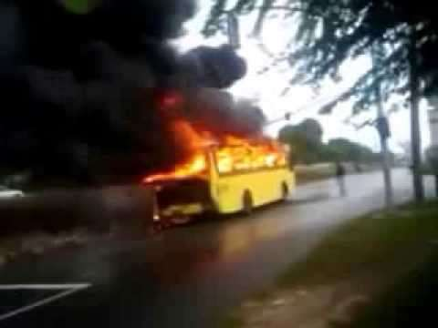 Up in Flames; JUTC probes another Bus Fire