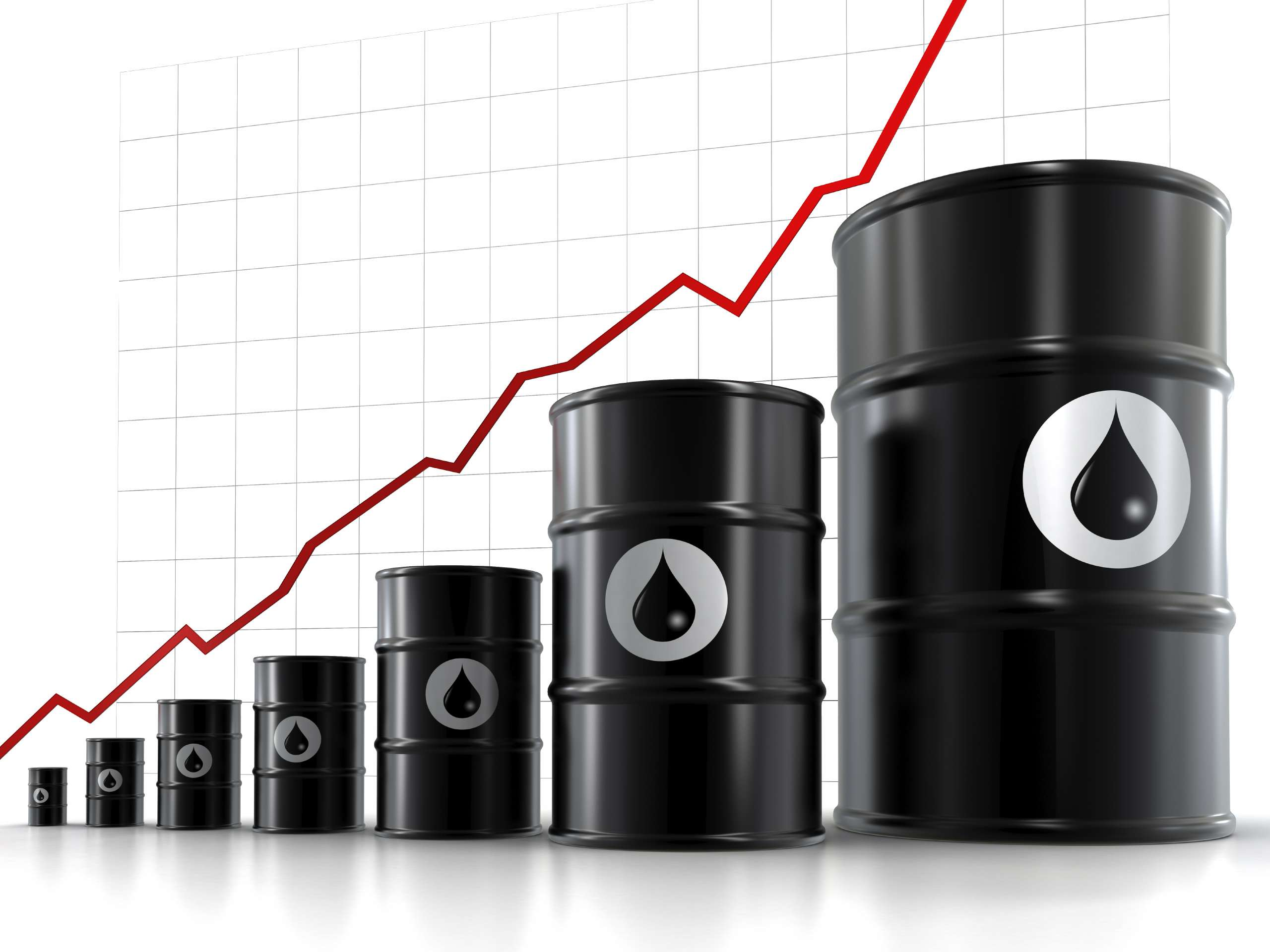 Oil hits Month-long High