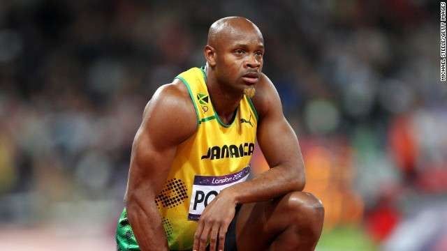 Asafa Settles for 2nd Place