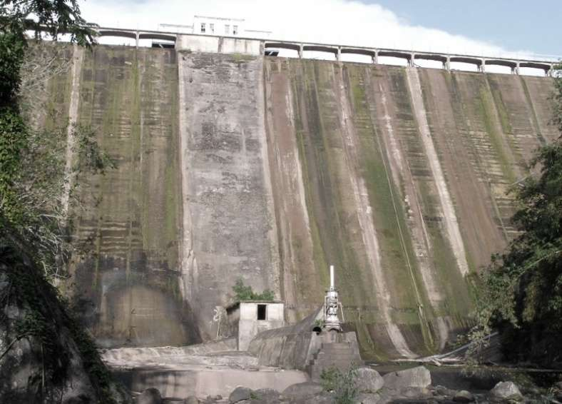 Hermitage Dam Levels Continue to Fall
