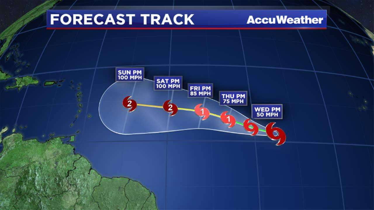 Hurricane Danny Getting Stronger