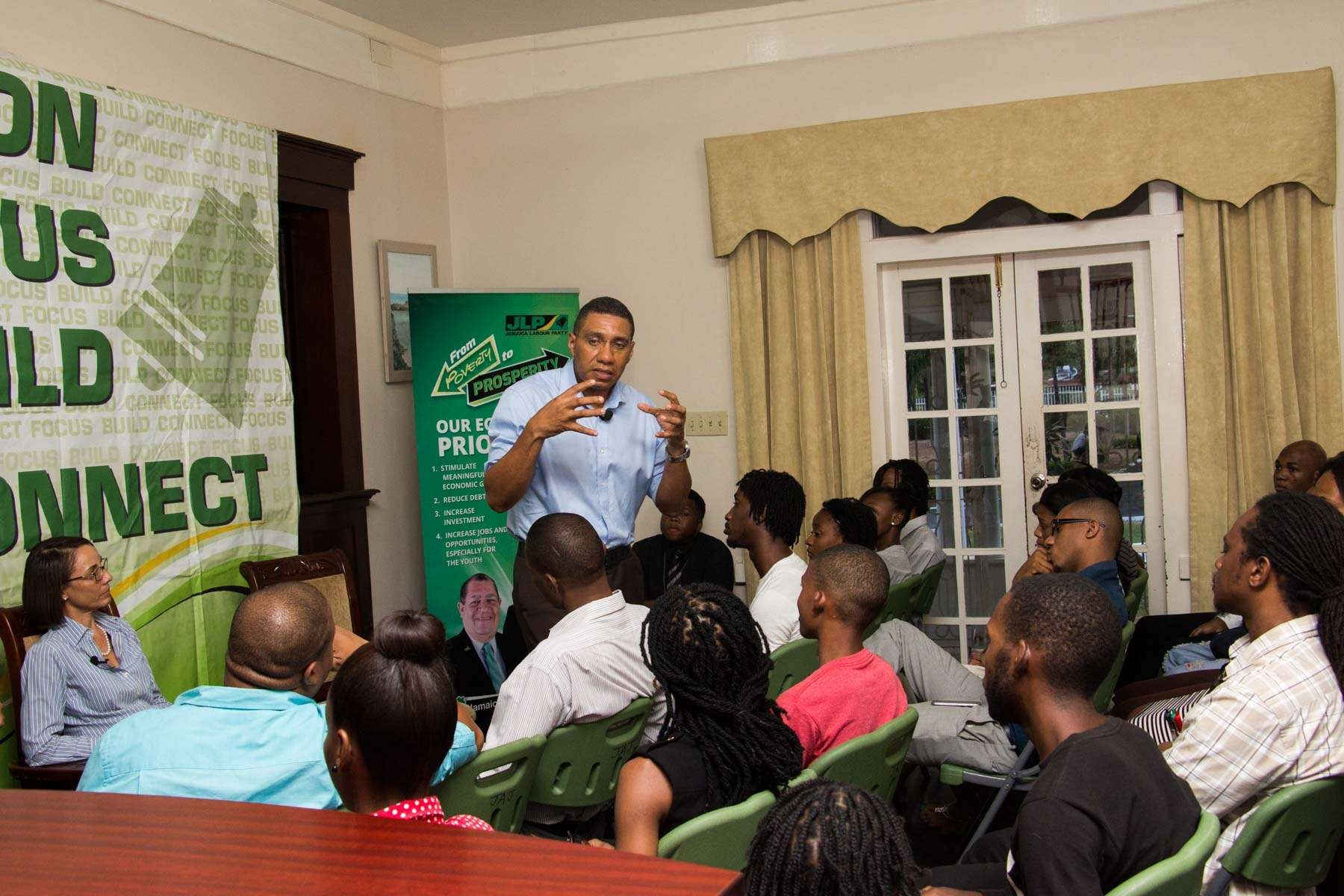 Holness Calls for Secondary Mortgage Market