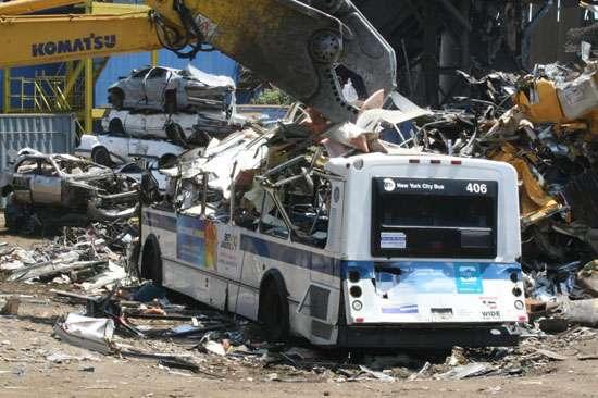 JUTC Buses for Scrap