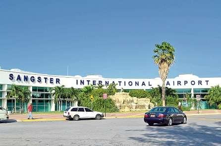 Sangster Airport Shut Down