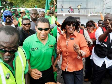 JLP & PNP Make Final Pitch Ahead of Opening of Polls