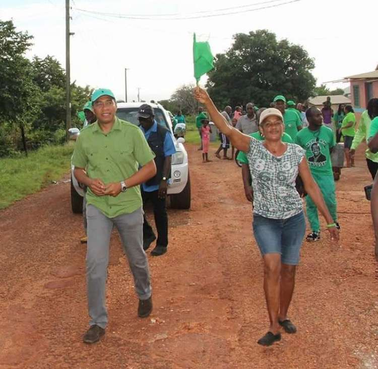 Holness Hits the Road