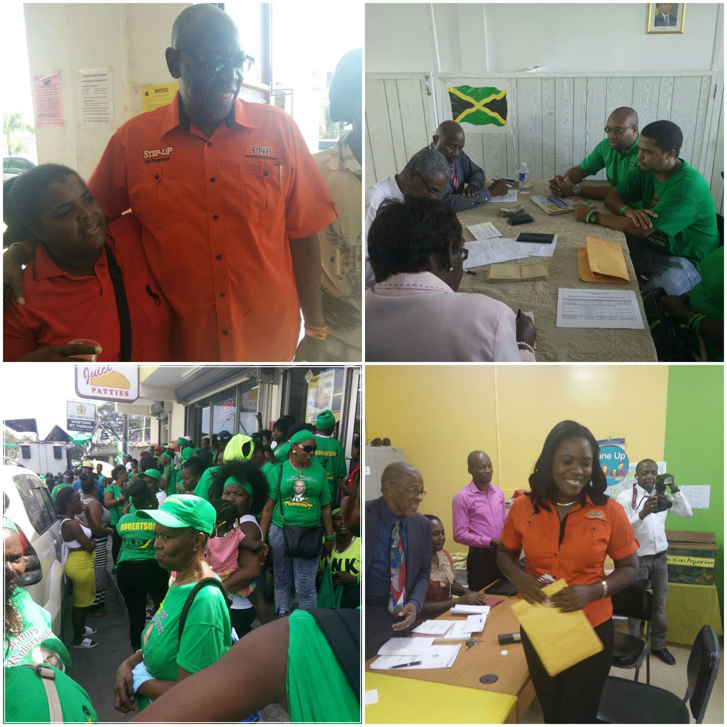 PNP & JLP Flex Muscles in St Thomas