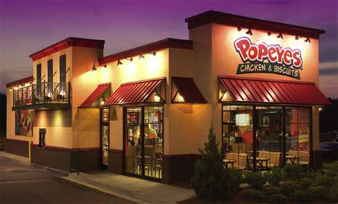 Three New Popeyes Outlets Coming