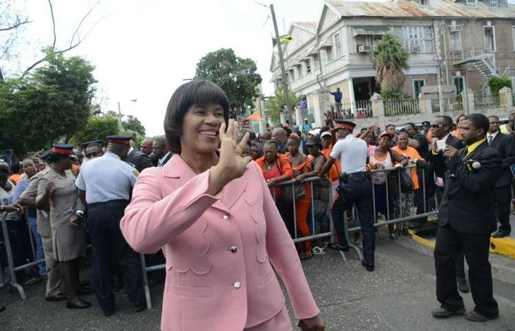Simpson-Miller Defends her Value to PNP