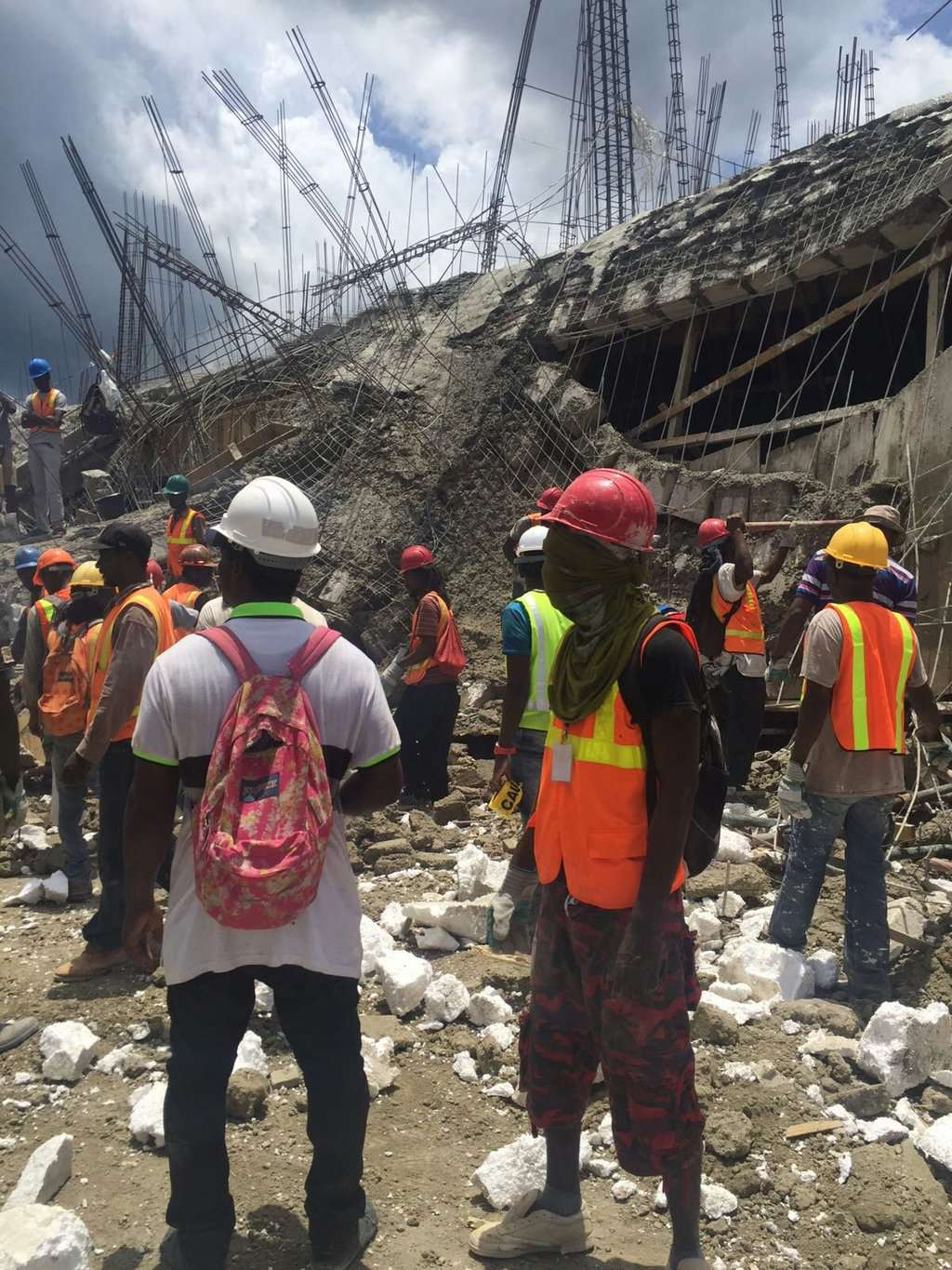 Workers Rescued After Royalton Collapse in Negril