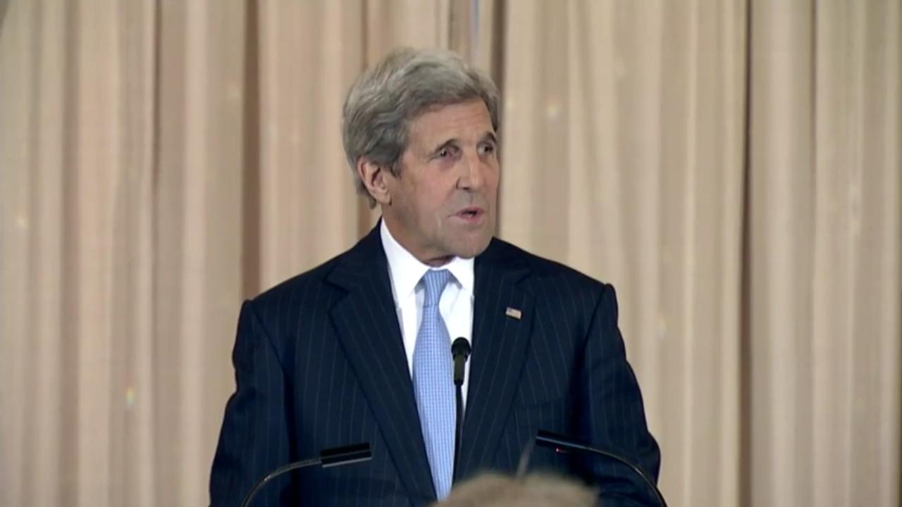 Secretary John Kerry at U.S.-Caribbean-Central American Energy Summit