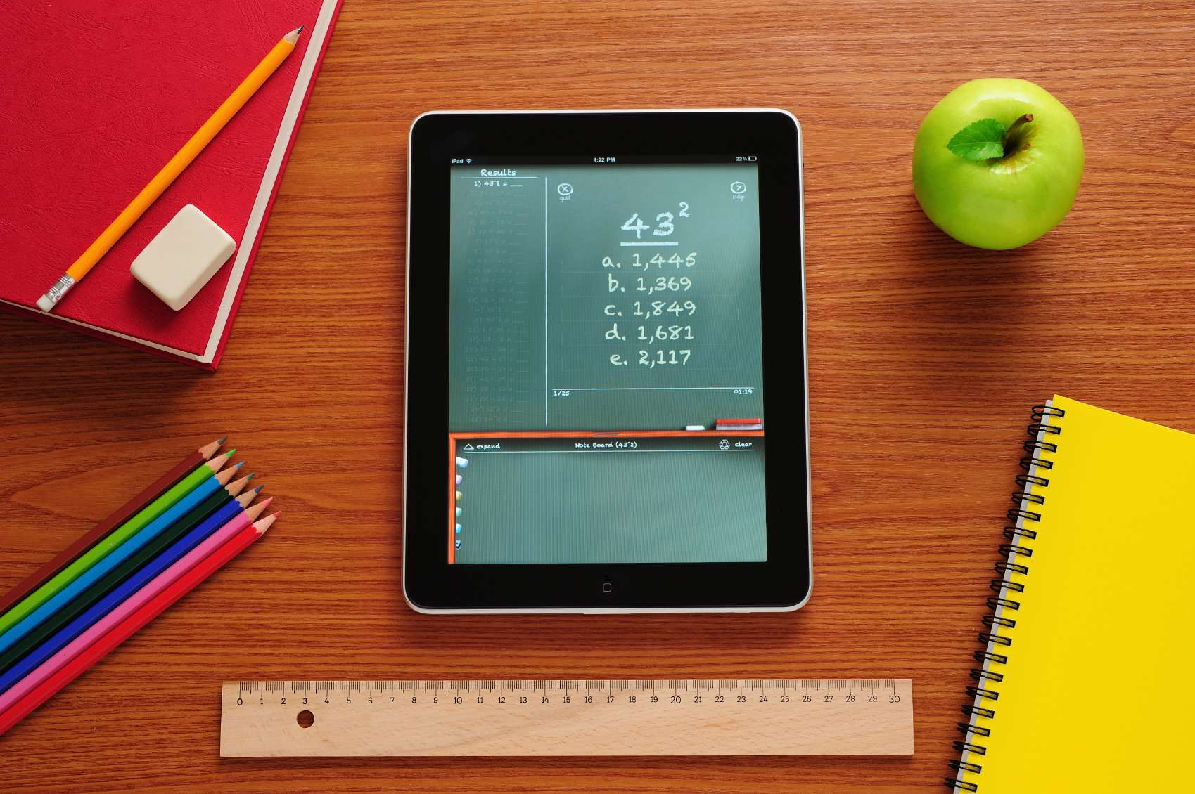 GeoTechVision Questions e-Learning's Handling of Tablets in Schools Project