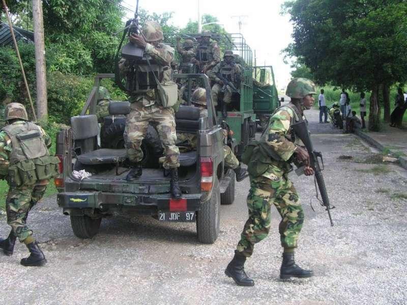 Military Deployed in 4 Key Hotspots