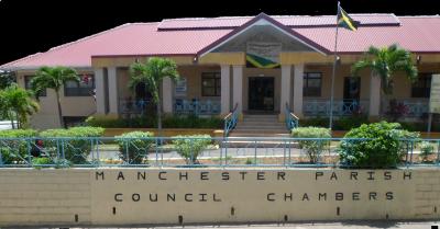 Arrest at Manchester Parish Council