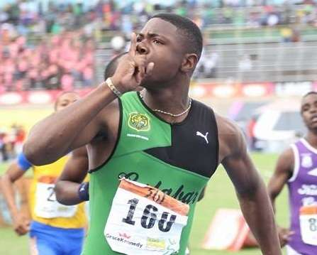 Russell Clocks WL 13.20 at U20 Championships